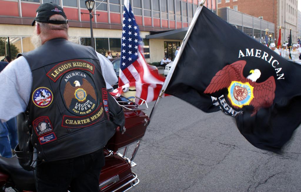 American Legion Rider