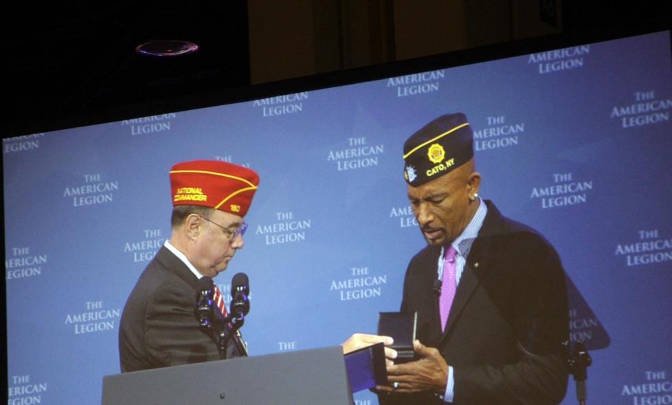 Legionnaire honored