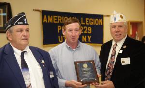 Honoring Frank Bergin