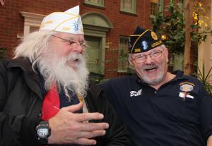 Santa Don and Bill Sequin
