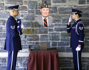 Final salute for Al Carpenter