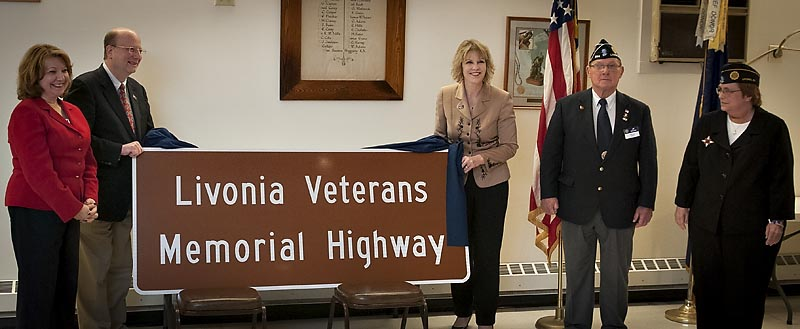 11.13.15 Livonia Veterans Memorial Highway