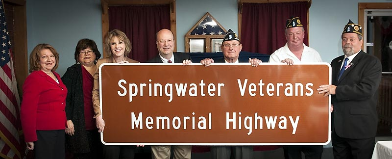 11.13.15 Springwater Veterans Memorial Highway