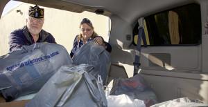 American Legion donates comfort items