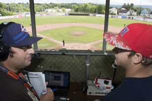 Dan Tomaino and Gus Pfisterer provide streaming audio play-by-play.