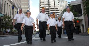Sons of American Legion march in National Convention Parade.