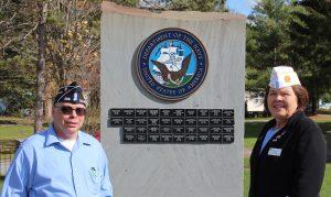 Visiting Navy memorial