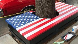 Bench flag