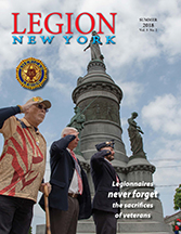 Cover Legion New York, Summer 2018