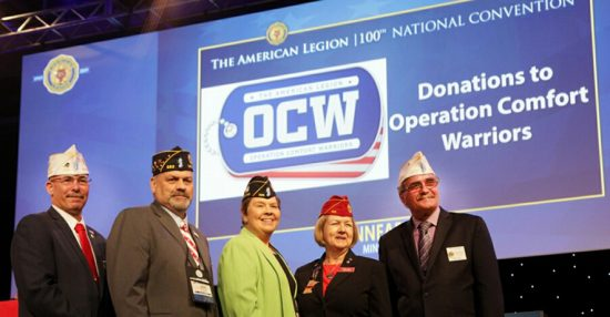 NY leaders donate to Operation Comfort Warriors