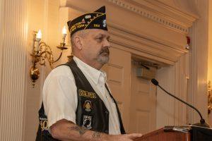 Legion Riders State Director Bob Wallace.