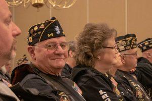 Legion Riders listen to reports