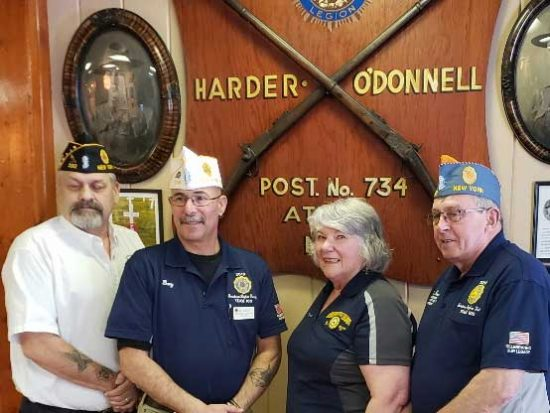 New York State American Legion leaders
