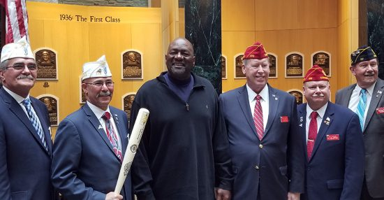 American Legion weekend at Hall of Fame
