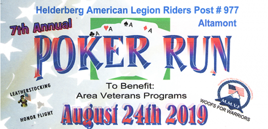 Altamont Poker Run Poster