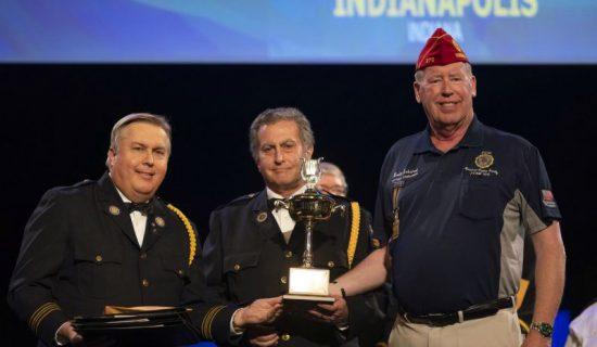 Tonawanda Band Receives Trophy 4144
