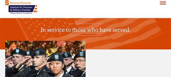 SU institute for veterans