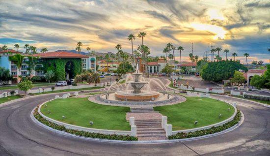 Arizona Grand Main Fountain